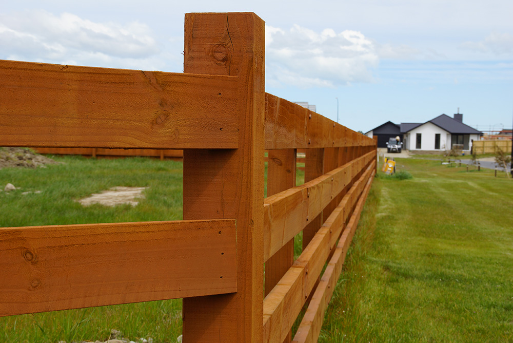 how to build a farm fence nz