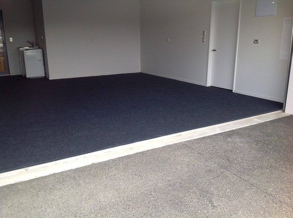 Garage carpet protecta coatings limited for Carpet flooring