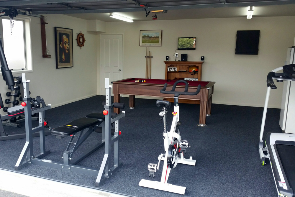 Home gym cost refresh renovations australia