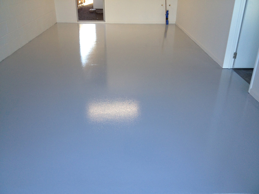 Concrete floor painting and sealing protecta coatings for Painting a concrete floor